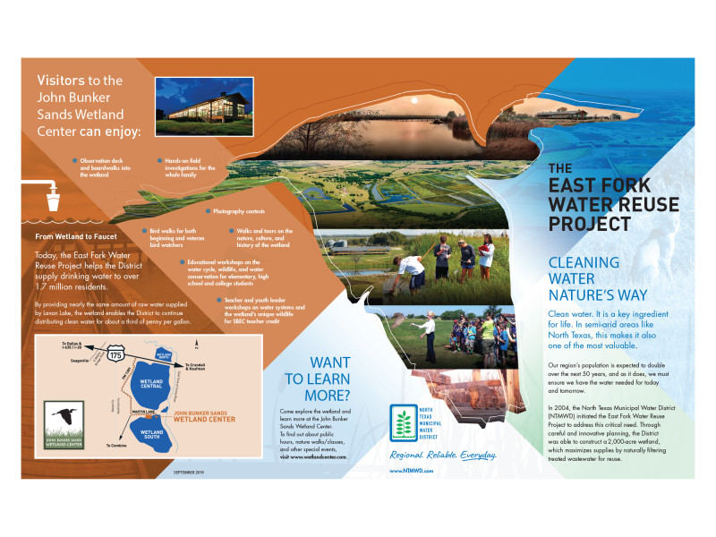North Texas Municipal Water District – East Fork Water Reuse Project Brochure 1