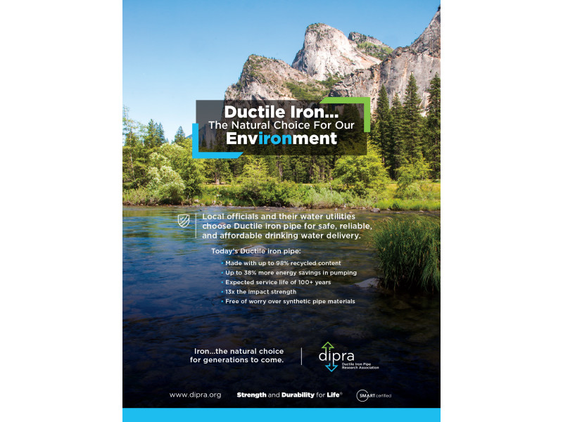 DIPRA – May 2019 AWWA Opflow envIRONment Ad