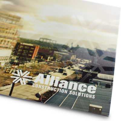 Alliance Brochure Cover Detail