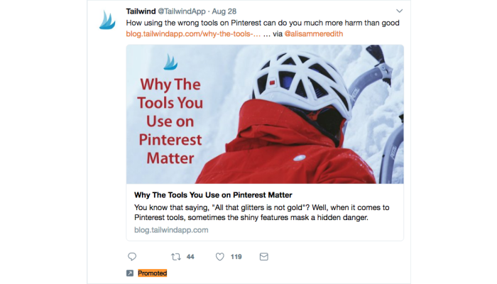 Why the tools you use on Pinterest Matter