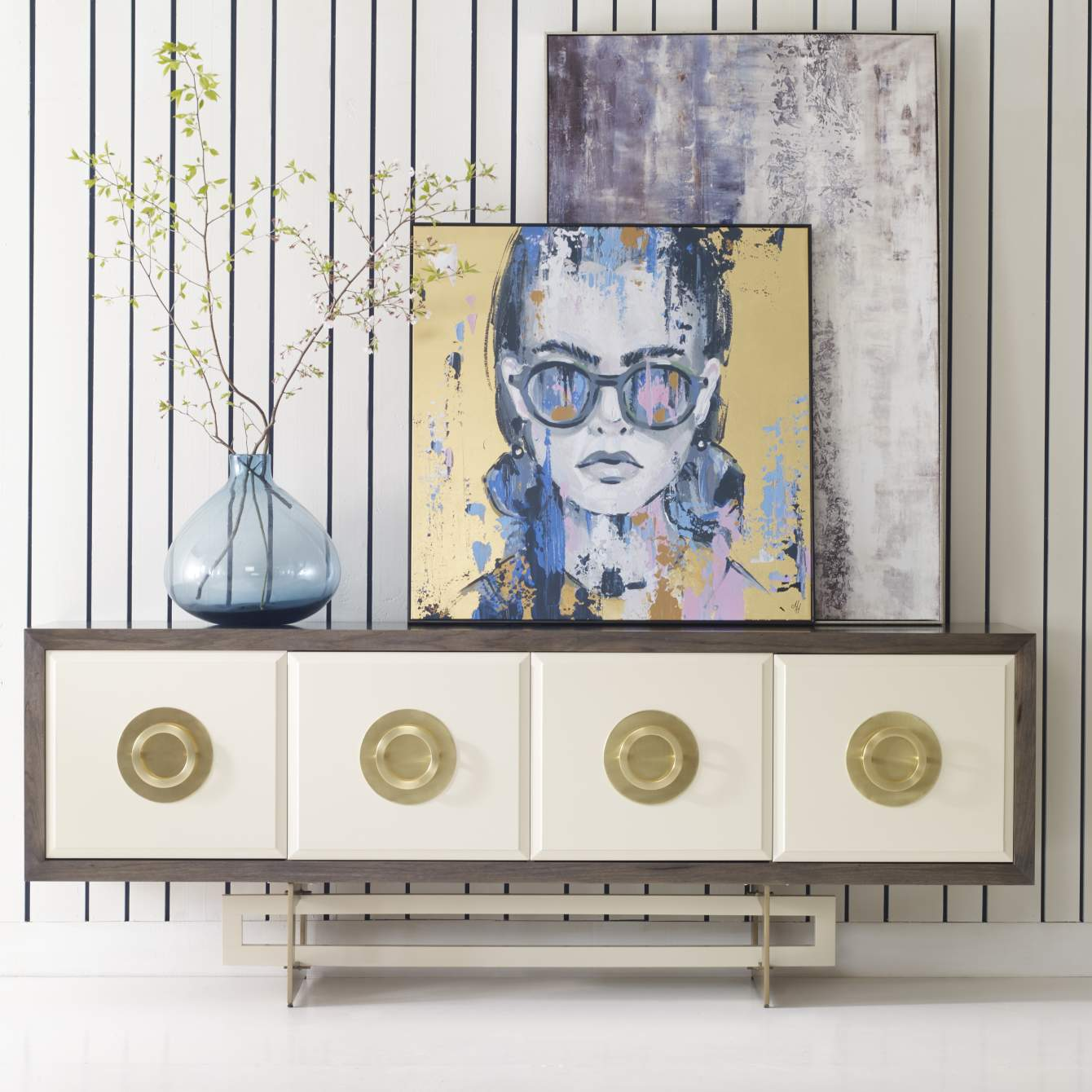 [object Object] Fountain Bleau Credenza