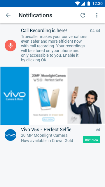 VIVO - Notifications