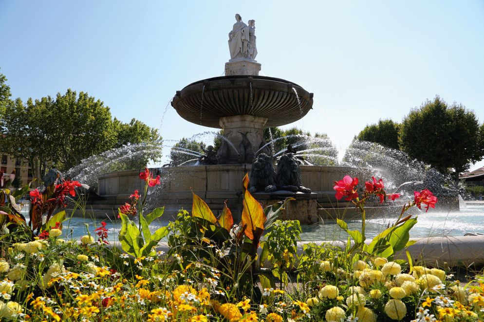Die Fontaine de la Rotonde ist der wohl berühmteste der über hundert Brunnen der Stadt.