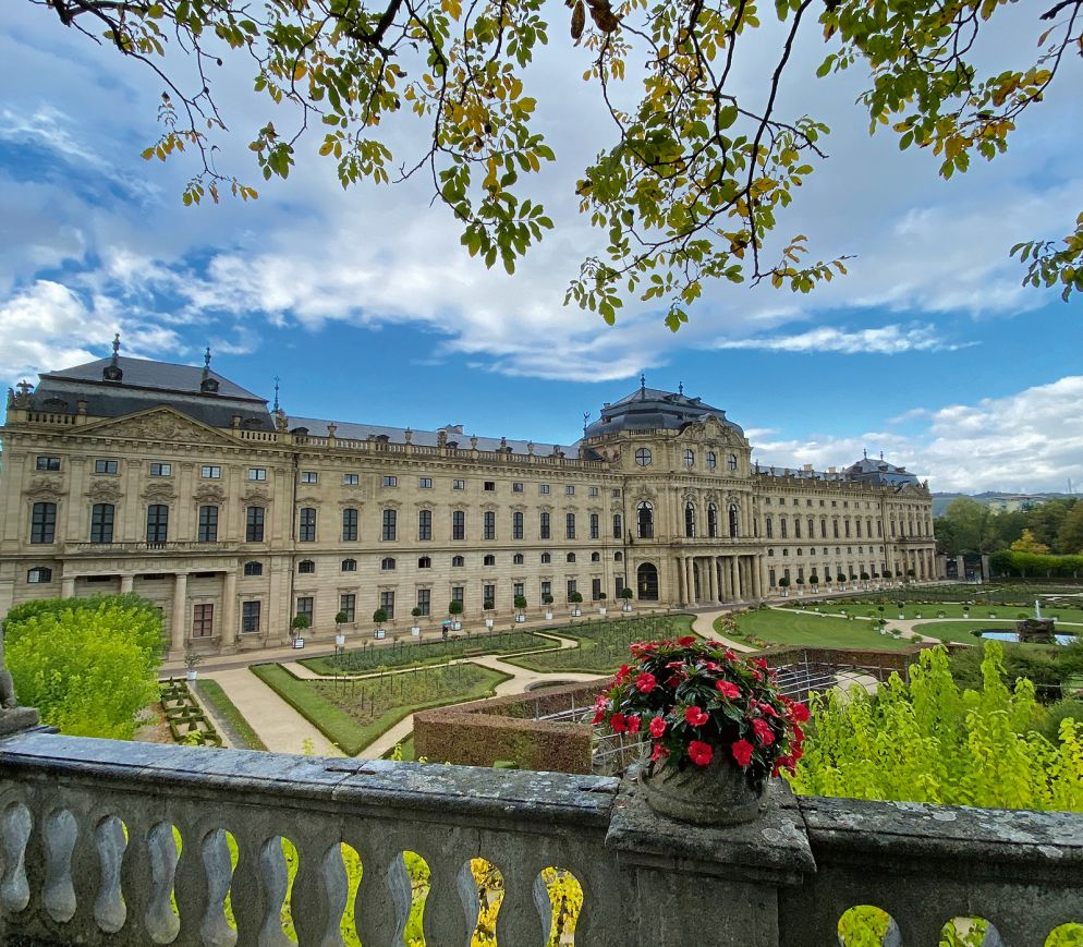 Die Würzburger Residenz gilt als Meisterwerk des Barock.