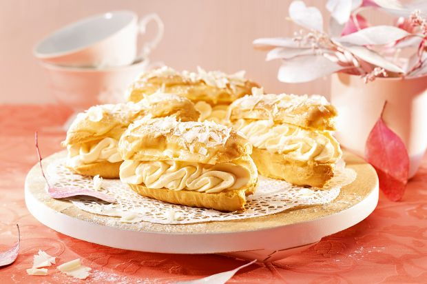 Passionsfrucht-Eclairs