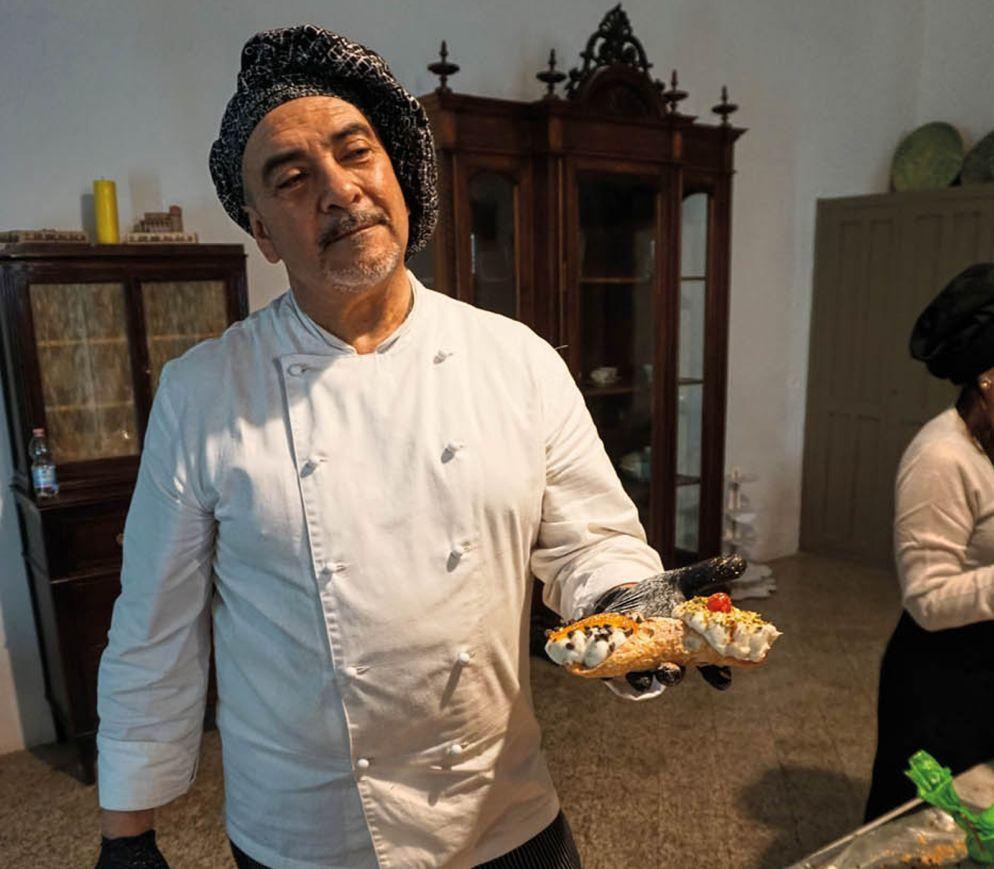 Tradition seit Jahrhunderten: Die besten Cannoli gibt es im Kloster Santa Caterina.