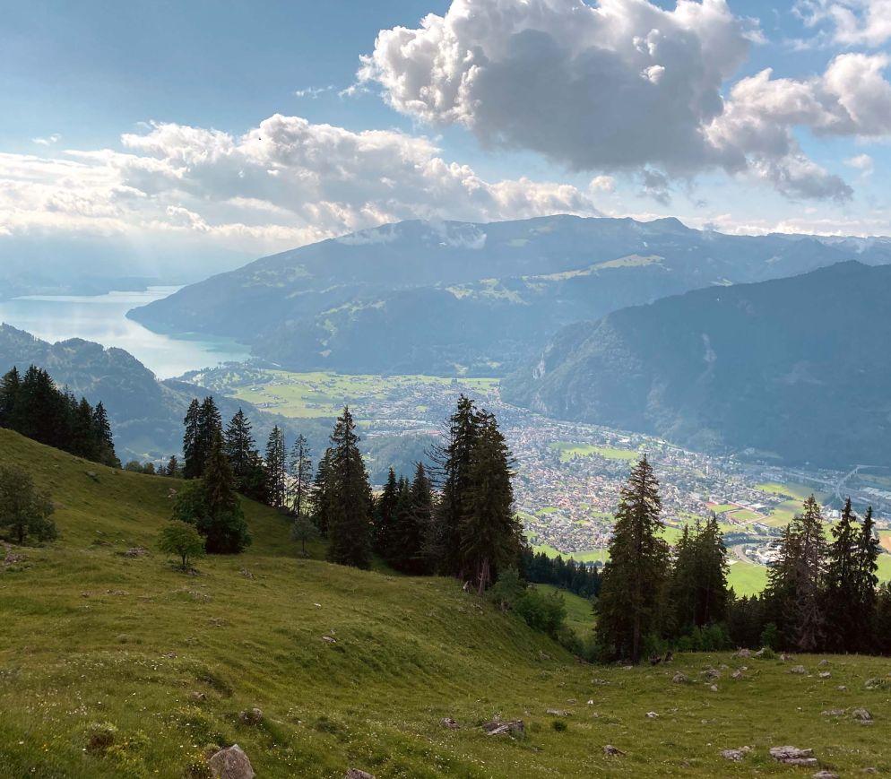 Zwischen Seen und Bergen: Die Gegend um Interlaken