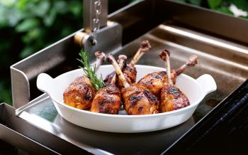 Chicken-Drumsticks vom Grill
