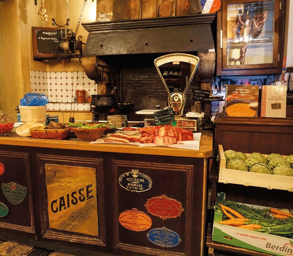 Kochen wie früher in einem alten Landhaus: Im «La Tupina»