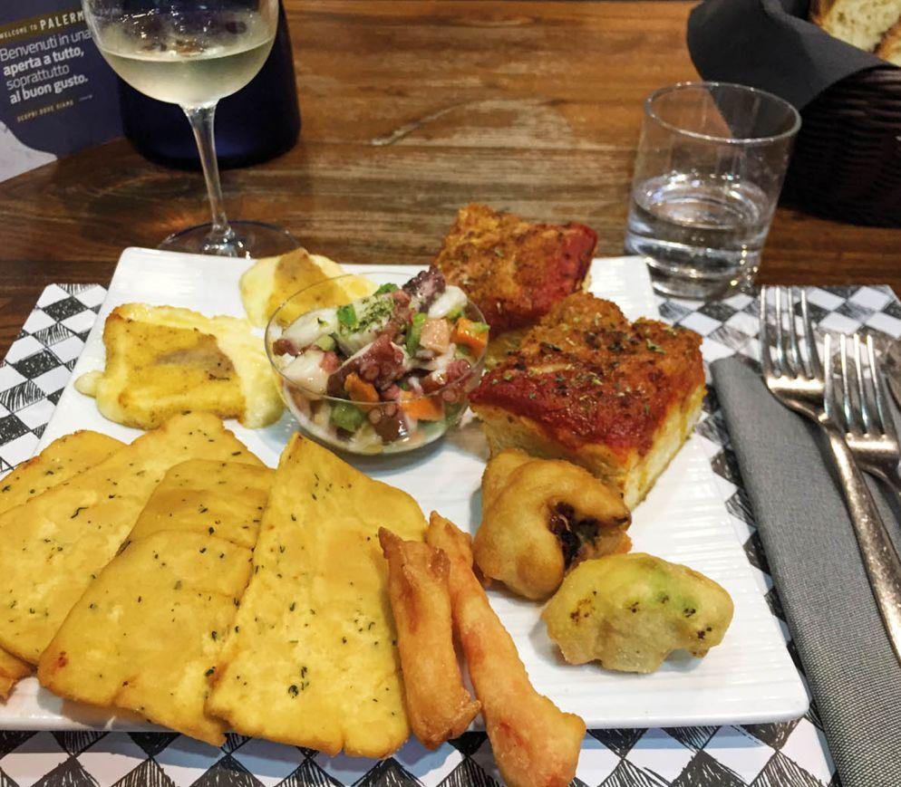 Streetfood-Antipasti im «Buatta»