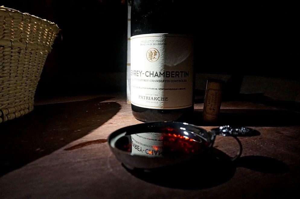 Stilechte Weinverkostung bei Patriarche Père et Fils