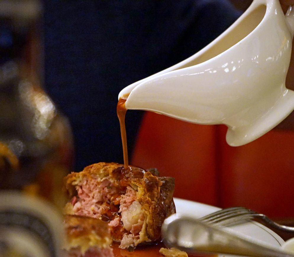Britischer geht es kaum: Pork Pie im «Holborn Dining Room».