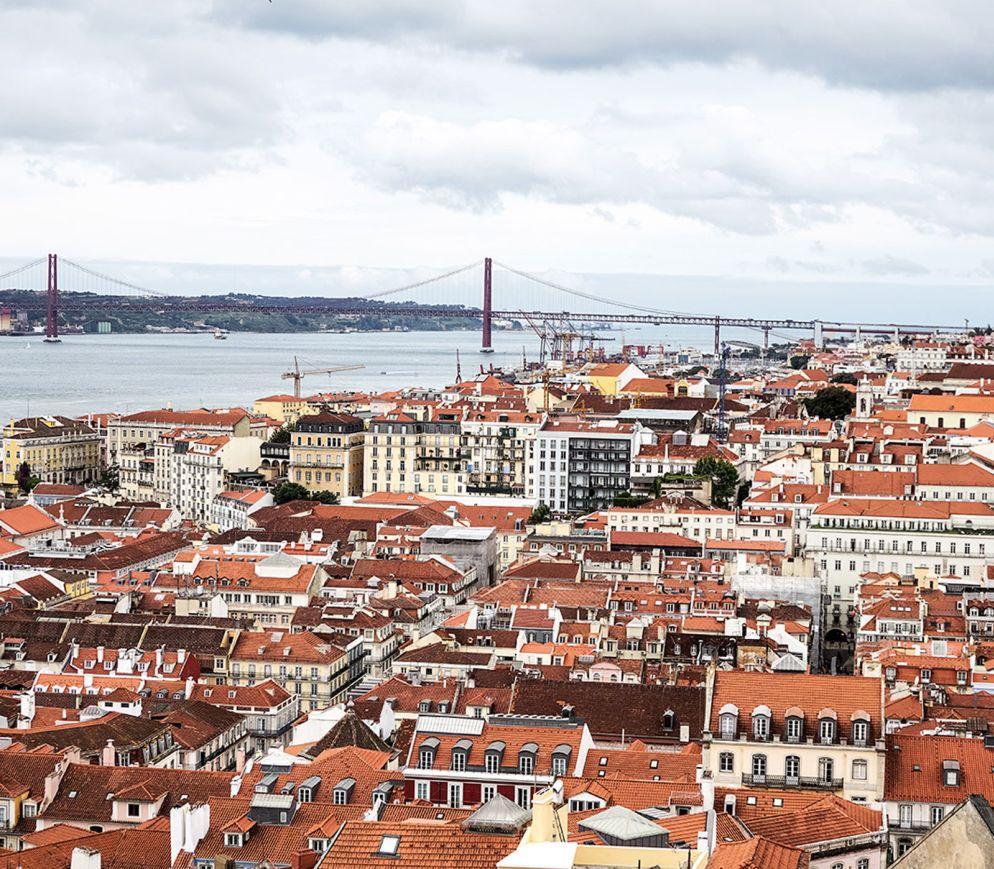 Blick auf Lissabon. Kaum eine europäische Stadt ist derzeit so angesagt wie die Metropole am Tejo.