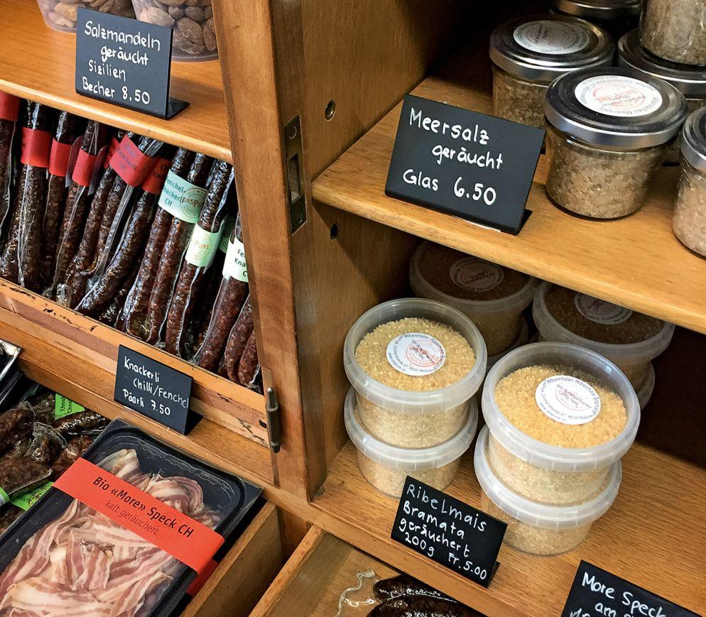 Delikatessen aus dem Rauch: Spezialitäten von Patrick Marxer in Wetzikon.