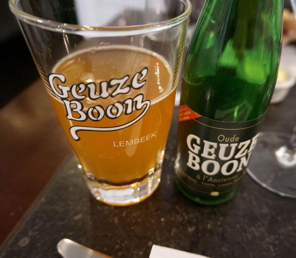 Belgische Bierdelikatesse: Die Geuze wird auch als Brüsseler Champagner bezeichnet.