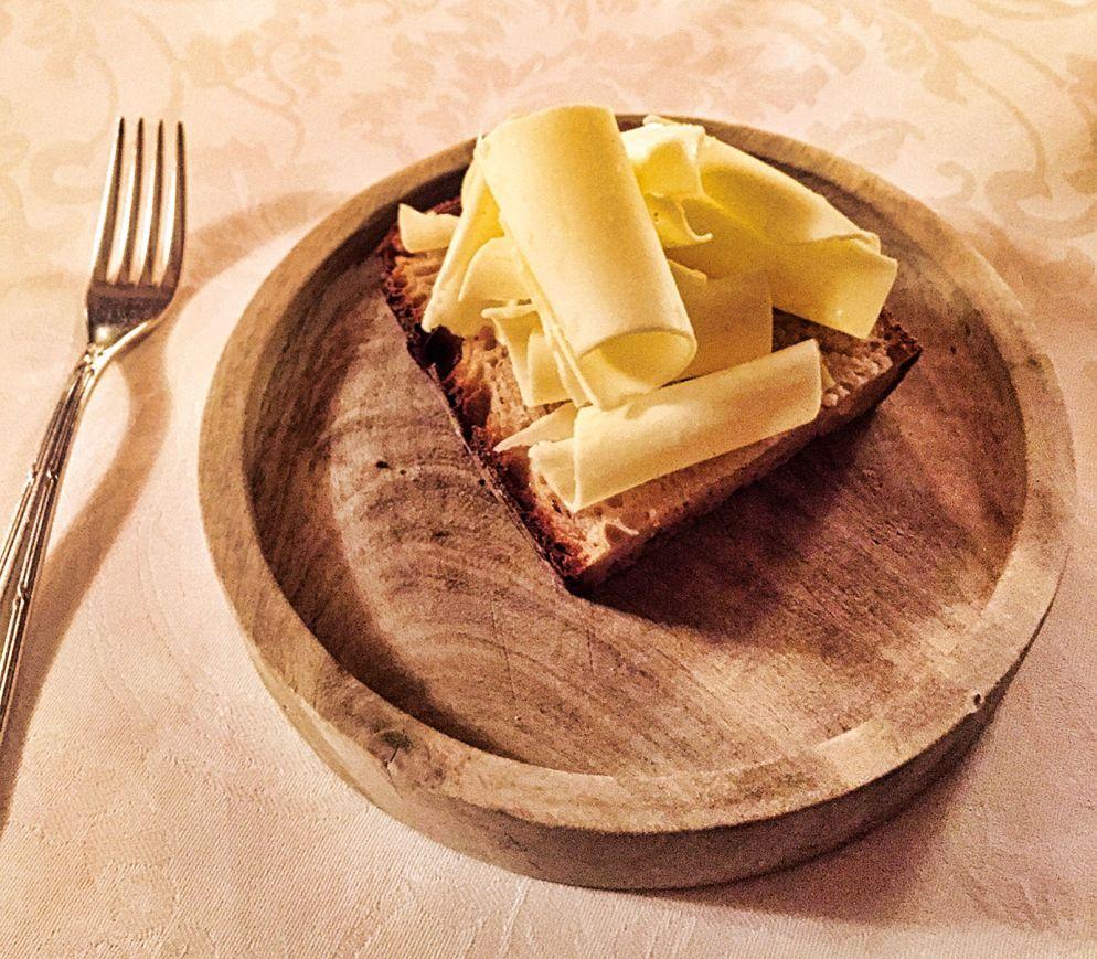 Einfachheit in Vollendung: Brot und Butter im «Le Gourmet»