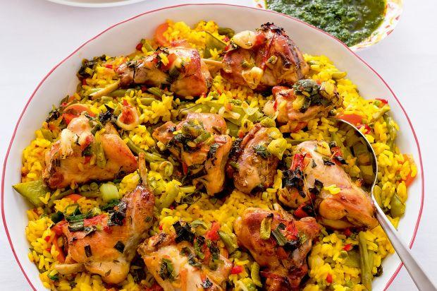 paella easy paella salmon paella bake zucchini summer paella paella ...