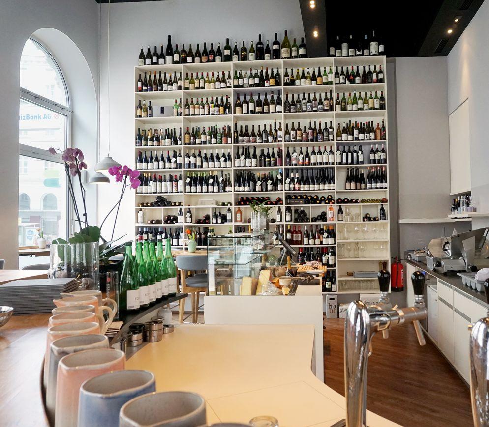 Wien kreativ: Heunisch & Erben mit fulminanter Weinauswahl und gewagtem Design