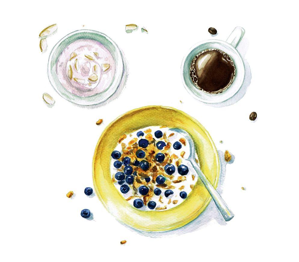 Porridge zum Frühstück!