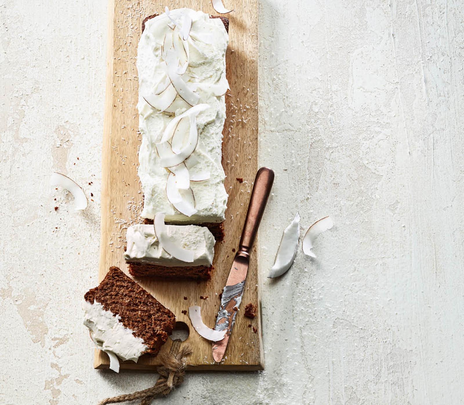 Kokos-Schokoladen-Schnitten