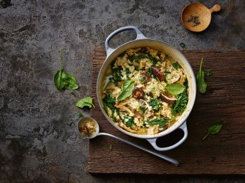 Herbstmotto Risotto!