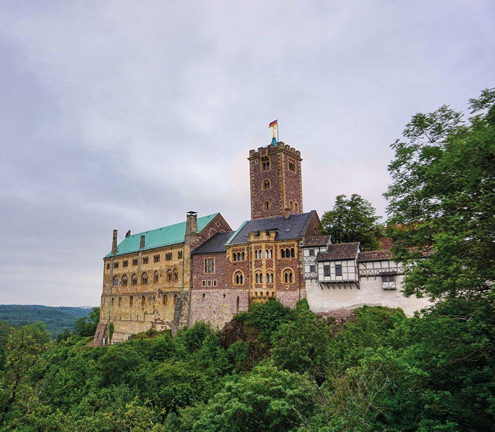Die Wartburg ist die wohl geschichtsträchtigste aller deutschen Burgen.