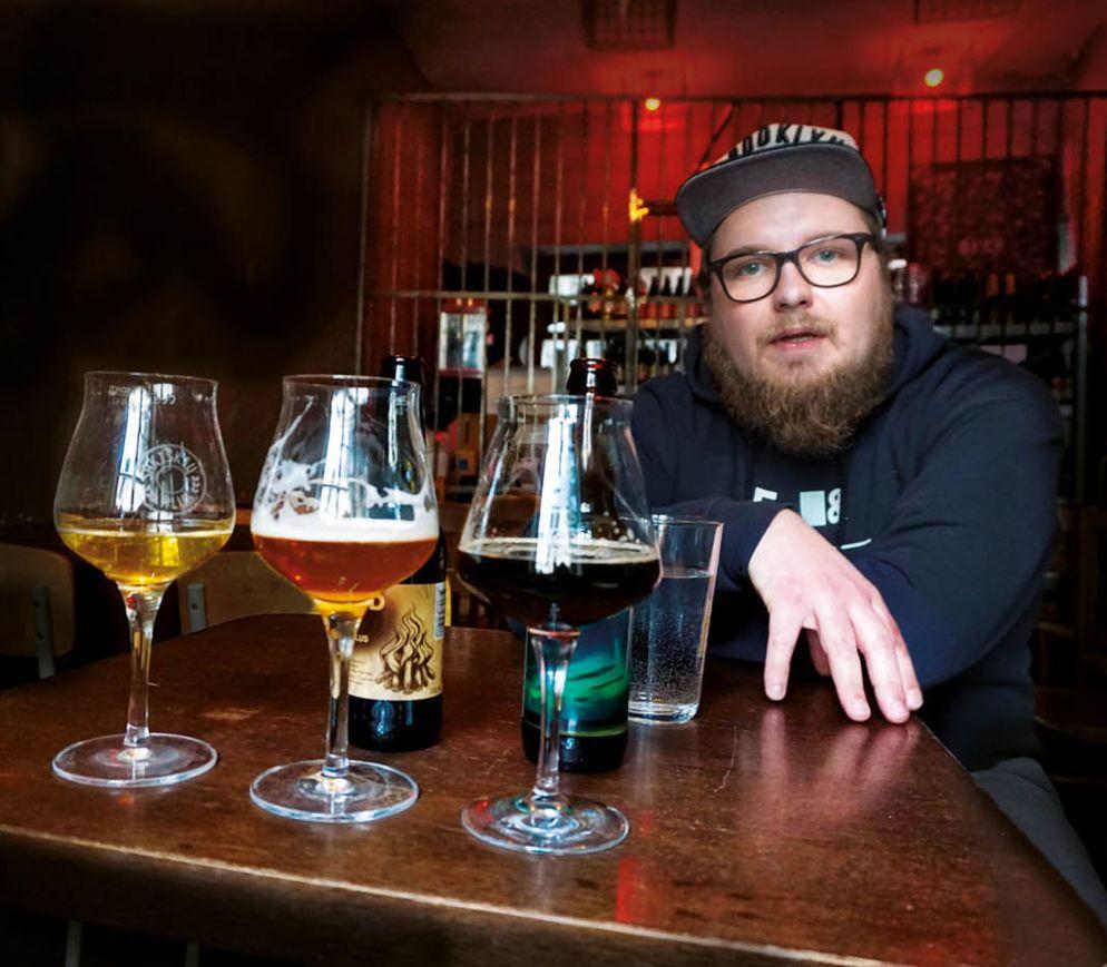 Bierverkostung – «Die Craft-Beer-Kultur hier ist einzigartig», sagt Thomas, Mitinhaber des «Prohibicija».