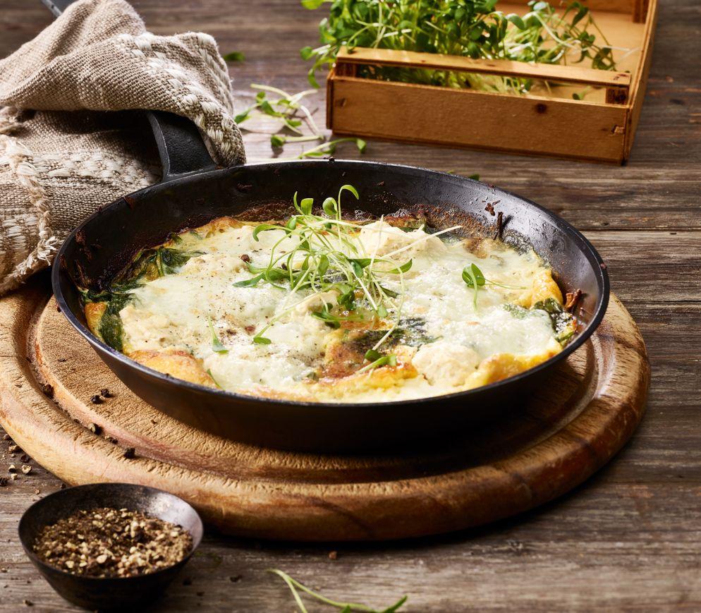 """<a href=""""https://www.wildeisen.ch/rezepte/omelette-mit-dreierlei-k%C3%A4se-und-spinat"""" target=""""_blank"""">Omelette mit dreierlei Käse und Spinat</a>"""