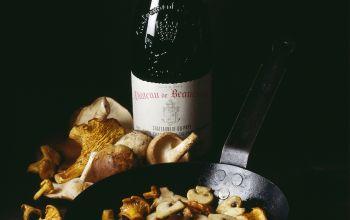 Pilze und Wein - eine herausfordernde Beziehung