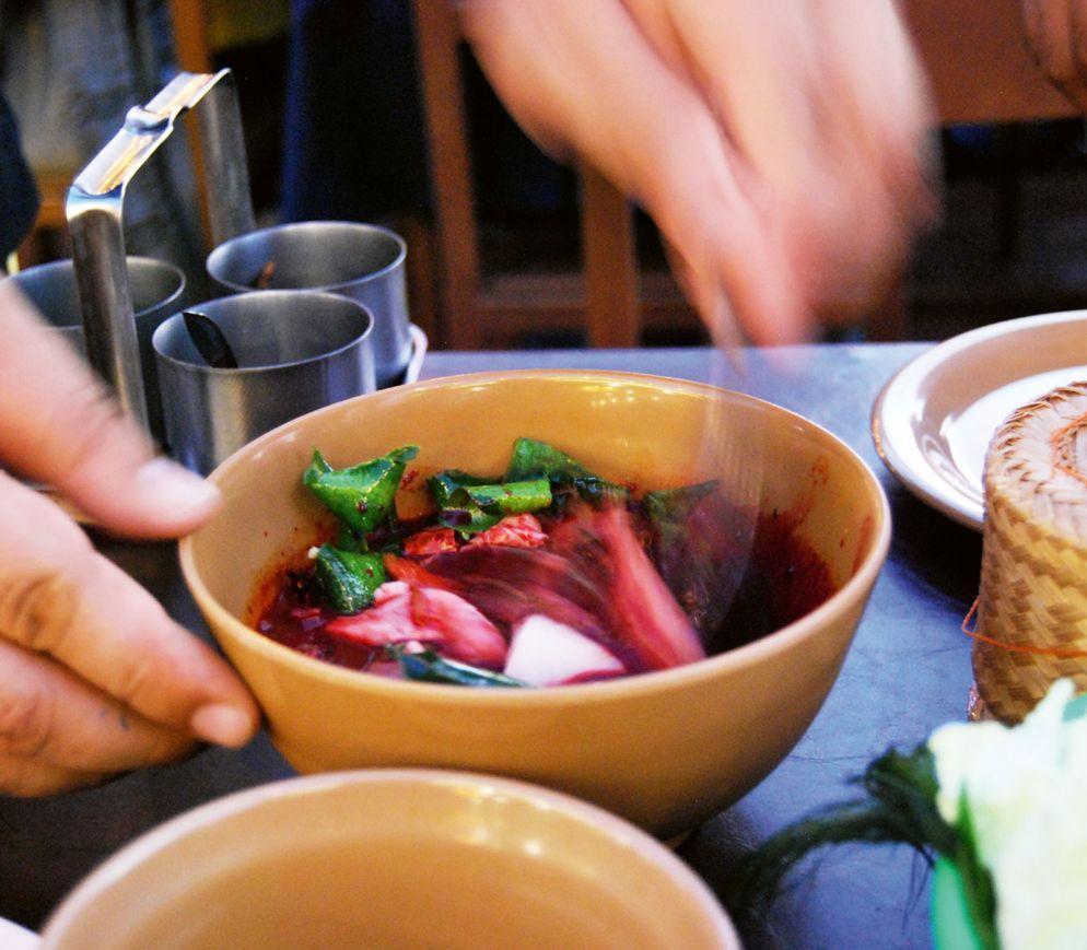 Die Küche des Nordens kann auch recht eigenwillig sein: Blutsuppe im «Lulum»