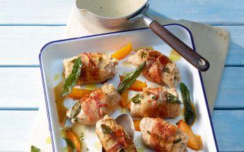 Kalbspl tzchen an d rrtomaten basilikum sauce annemarie for Kochen italienisch