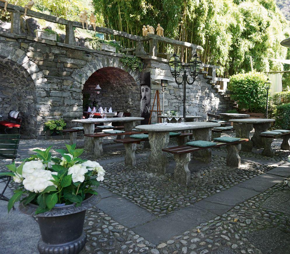 luxuriöse Grotto-Idylle im «Da Enzo».