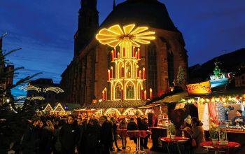 Weinachtsmarkt in Heidelberg