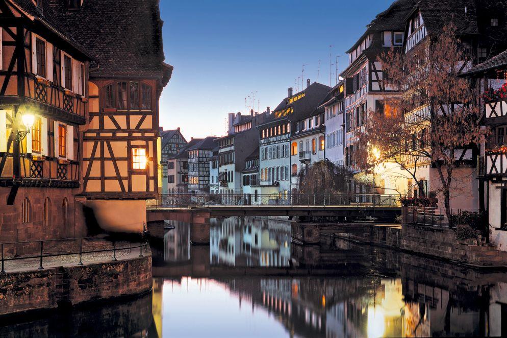 Das malerischste Viertel von Strasbourg: La Petite France.