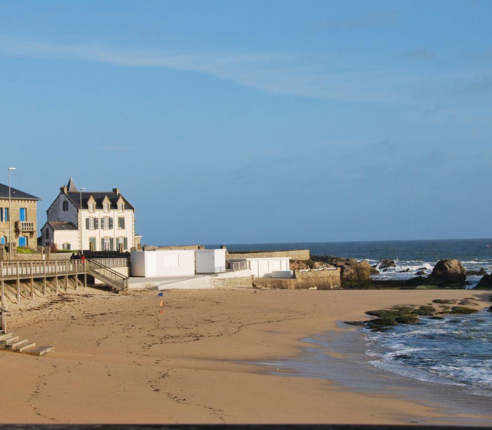 Le Croisic, am äussersten Rand der Guérande-Halbinsel.