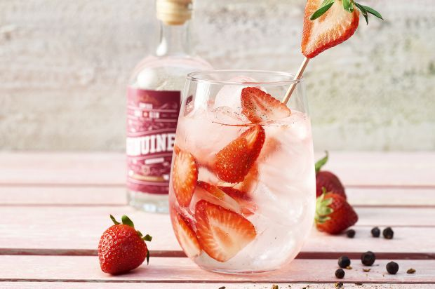 Strawberry Gin Tonic