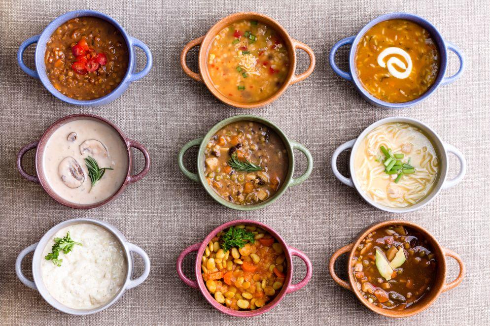 Wärmende Suppen für kalte Tage