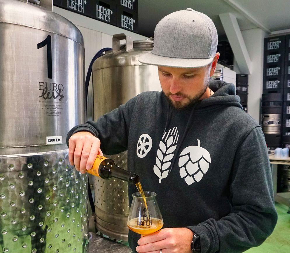 Vorreiter für eine eigenständige Erfurter Bierkultur: Jan Schlennstedt und seine Braumanufaktur «Heimathafen».