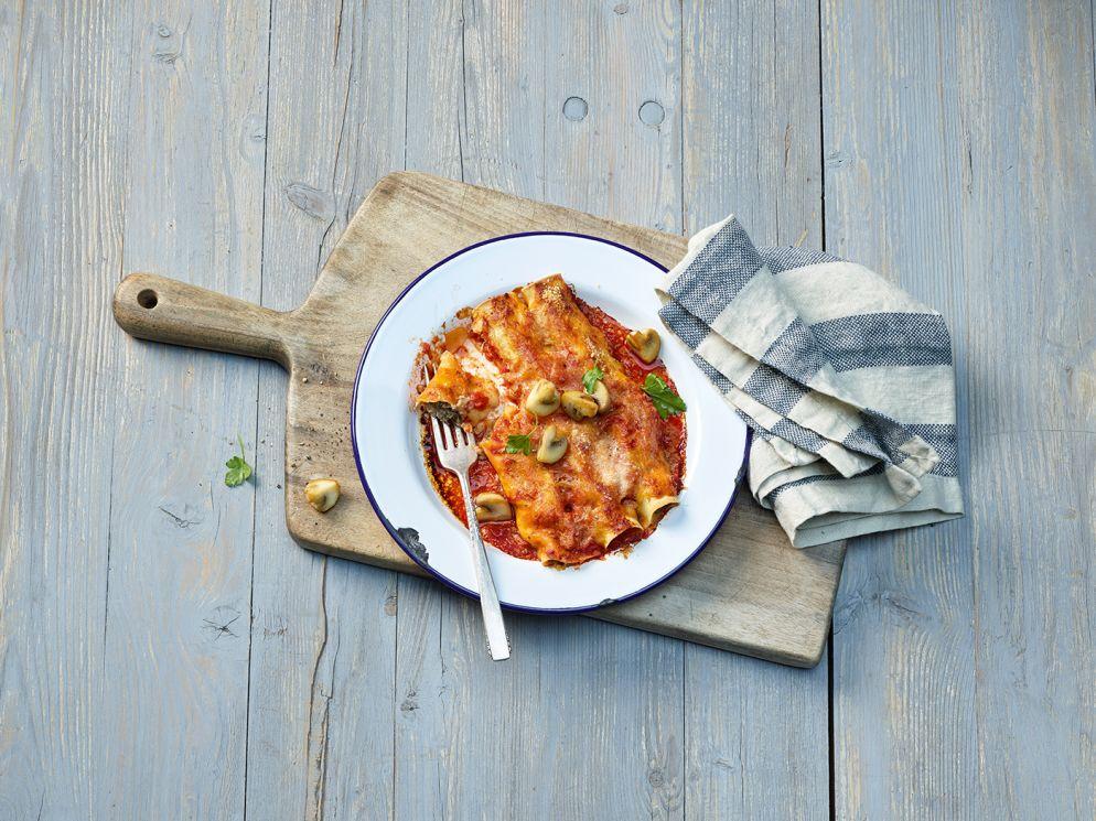 """<a href=""""https://www.wildeisen.ch/rezepte/cannelloni-mit-pilz-frischkaese-fuellung"""" target=""""_blank"""">Cannelloni mit Pilz-Frischkäse-Füllung</a>"""