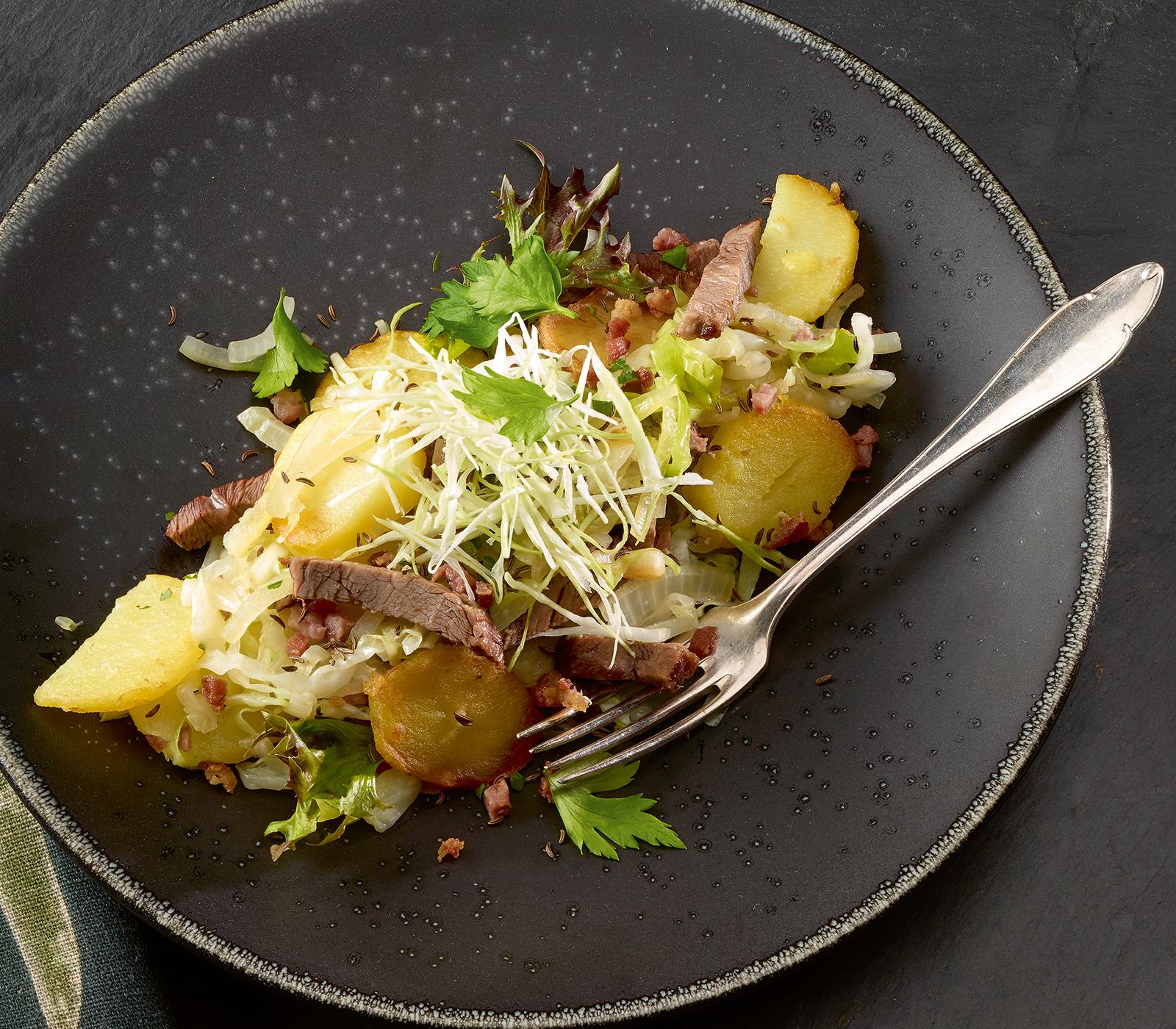 Gebratene siedfleisch kartoffeln annemarie wildeisen 39 s for Kochen 10 personen