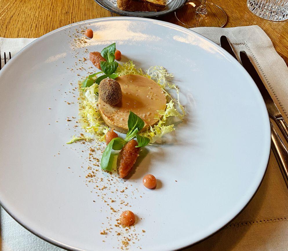 Grossartige Kombination: Foie Gras, Quitte und Lebkuchen im «Rössli».