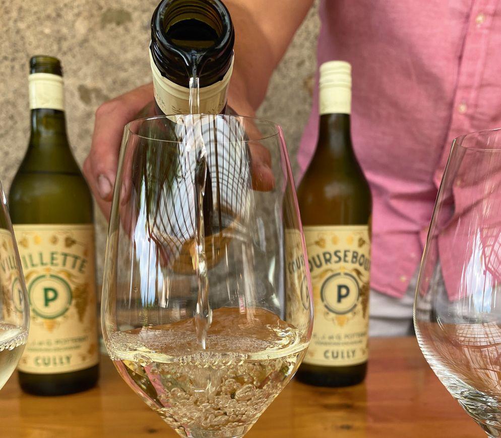 Natürlich Chasselas: Weindegustation in der «Domaine Potterat».
