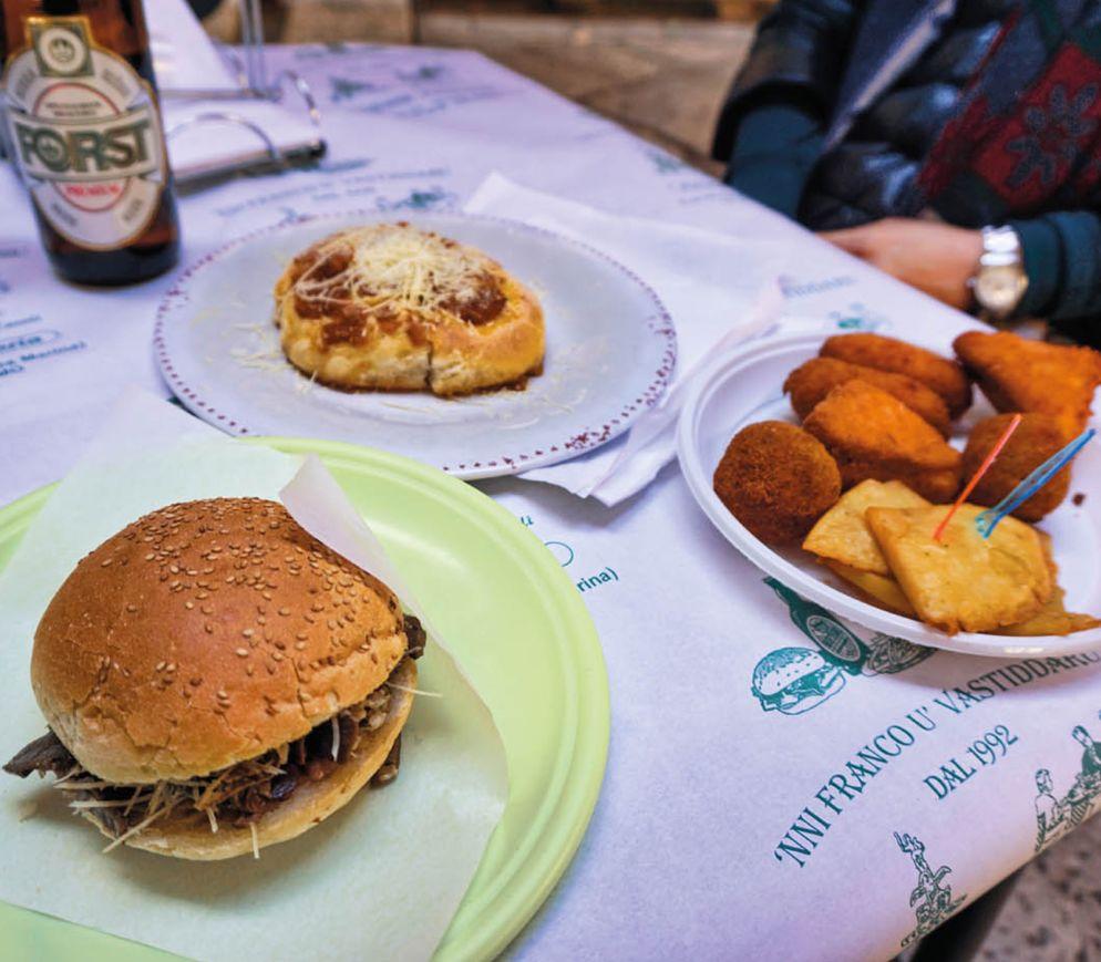 Authentisches Palermo-Streetfood bei «Franco u Vastiddaru»
