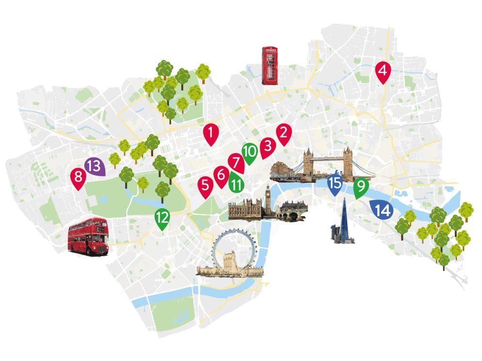 ÖV: Unbegrenzte Fahrten im Zentrum mit allen Londoner Verkehrsmitteln gibt es mit der Oyster Card: [https://oyster.tfl.gov.uk](https://oyster.tfl.gov.uk)