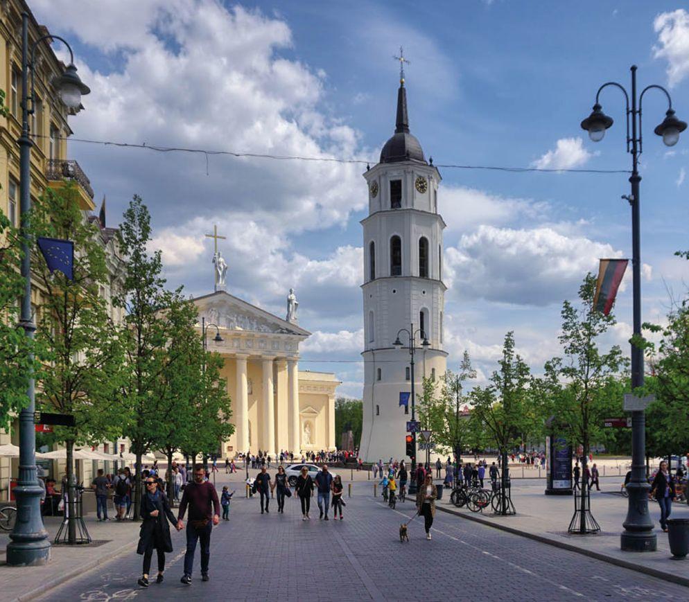 Vilnius - Entfesselter baltischer Elan