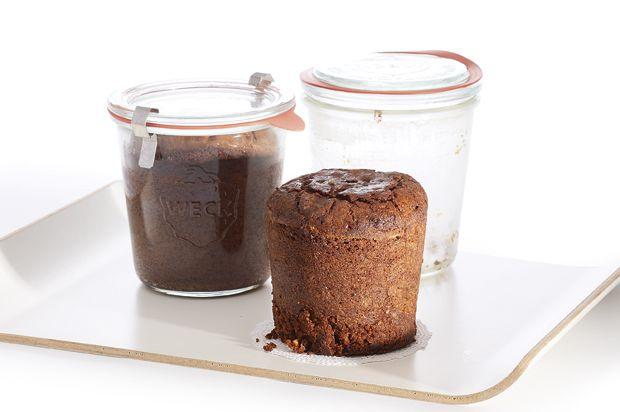 schokoladen haselnuss kuchen im weck glas annemarie. Black Bedroom Furniture Sets. Home Design Ideas