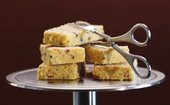 Shortbread mit Cranberries