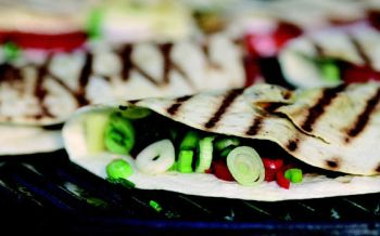 Tortillas vom Grill