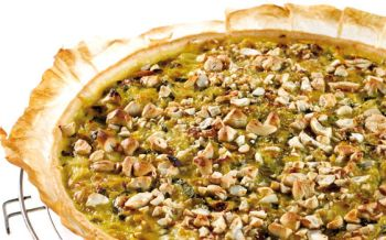 Lauch-Curry-Quiche