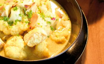 Poulet-Blumenkohl-Curry